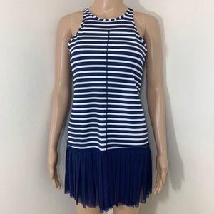 NWOT New Balance For Jcrew Striped Tennis Dress
